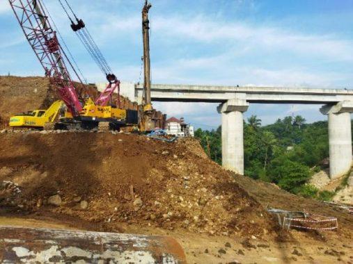 Proyek double track ruas Cigombong Ciomas/Murtadho/Tempo